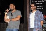Anurag Kashyap and Vikas Bahl during the music launch of movie 'Katiyabaaz'