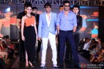 Tamannaah and Akshay Kumar during the promotion of movie 'Entertainment' in Bengaluru