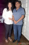 Sujatha Lever and Johny Lever at the special screening of 'Entertainment'