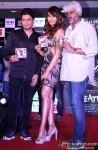 Bhushan Kumar, Bipasha Basu and Vikram Bhatt during the Music launch of Movie Creature 3D