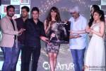 Mithoon, Bhushan Kumar, Bipasha Basu, Vikram Bhatt, Khushali Kumar and Tulsi Kumar during the Music launch of Movie Creature 3D
