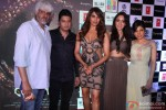 Vikram Bhatt, Bhushan Kumar, Bipasha Basu, Khushali Kumar and Tulsi Kumar during the Music launch of Movie Creature 3D