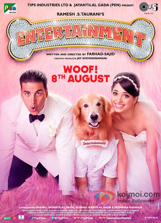Entertainment Movie Poster