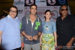 Ramesh Taurani, Tamannah, Akshay Kumar At The Promotions of Entertainment In Hyderabad