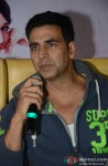 Akshay Kumar At The Promotions of Entertainment In Hyderabad