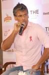 Milind Soman Interacts With Media At Pinkathon Delhi Press Meet