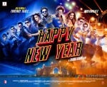 Shah Rukh Khan, Abhishek Bachchan, Boman Irani, Sonu Sood, Deepika Padukone and Vivaan Shah starrer 'Happy New Year' Movie Poster 3