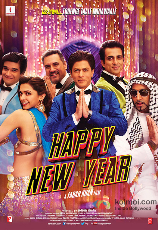 Happy New Year Movie Poster 20