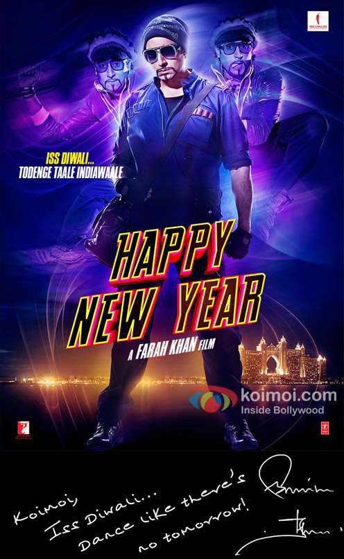 Happy New Year Movie Poster 18