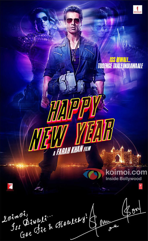 Happy New Year Movie Poster 10