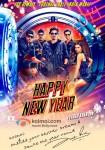 Shah Rukh Khan, Abhishek Bachchan, Boman Irani, Sonu Sood, Deepika Padukone and Vivaan Shah starrer 'Happy New Year' Movie Poster