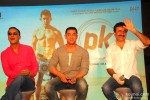Vidhu Vinod Chopra, Aamir Khan and Rajkumar Hirani during the Launch of 2nd Poster Of PK Pic 1
