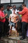MLA Krishna Hegde Puts Clothes On Aamir Khan's 'PK' Poster Pic 1