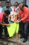 MLA Krishna Hegde Puts Clothes On Aamir Khan's 'PK' Poster Pic 2