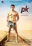 Aamir Khan in PK Movie Poster 1