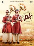 Aamir Khan and Sanjay Dutt in PK Movie Poster