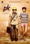 Aamir Khan and Anushka Sharma in PK Movie Poster 1