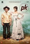 Aamir Khan and Anushka Sharma in PK Movie Poster 2