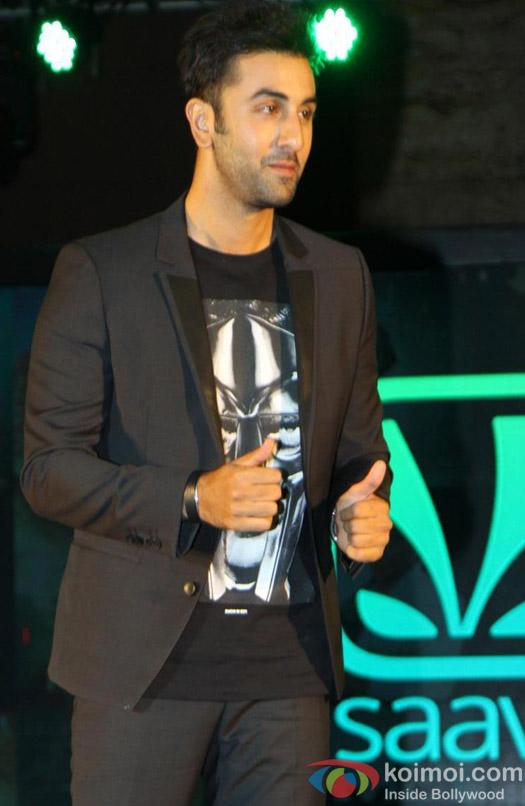 Ranbir Kapoor At Saavn Online Music Platform Premiere Pic 1