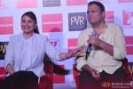 Rani Mukerji and Gopi Puthran during the launch of 'Mardaani' anthem