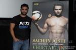 Sachiin Joshi Unveils PETA's New Campaign