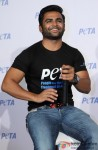Sachiin Joshi While Promoting PETA's New Campaign