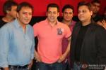Kamal Sadanah, Salman Khan At The Trailer Launch Of 'Roar'