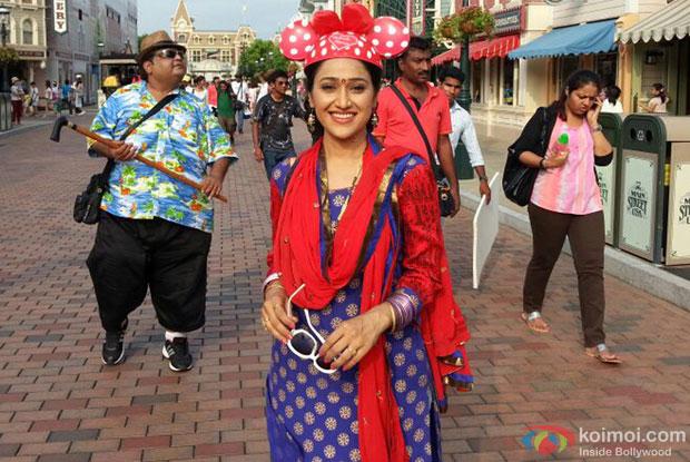 Daya as Mini at HongKong Disneyland