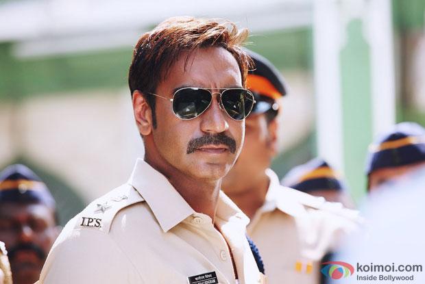 Ajay Devgn In still from movie Singham Returns