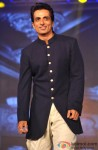 Sonu Sood during the trailer launch of movie Happy New Year