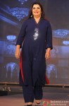Farah Khan during the trailer launch of movie Happy New Year