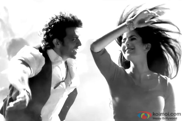 A still from Bang Bang's song 'Tu Meri'