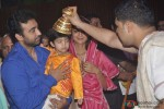 Raj Kundra, Viaan Raj Kundra and Shilpa Shetty at Iskon Temple Pic 1