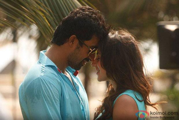 Rannvijay Singh and Anindita Nayar in a still from movie '3AM'