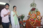 Shraddha Kapoor Clicked At The Ganpati Puja At Her Place