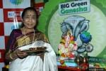 Asha Bhosle At Ganpati Puja Is Big FM's Office
