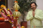 Vivek Oberoi Celebrates Ganpati Festival At Home