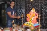 Sonu Sood Snapped At Ganpati Puja At His Place