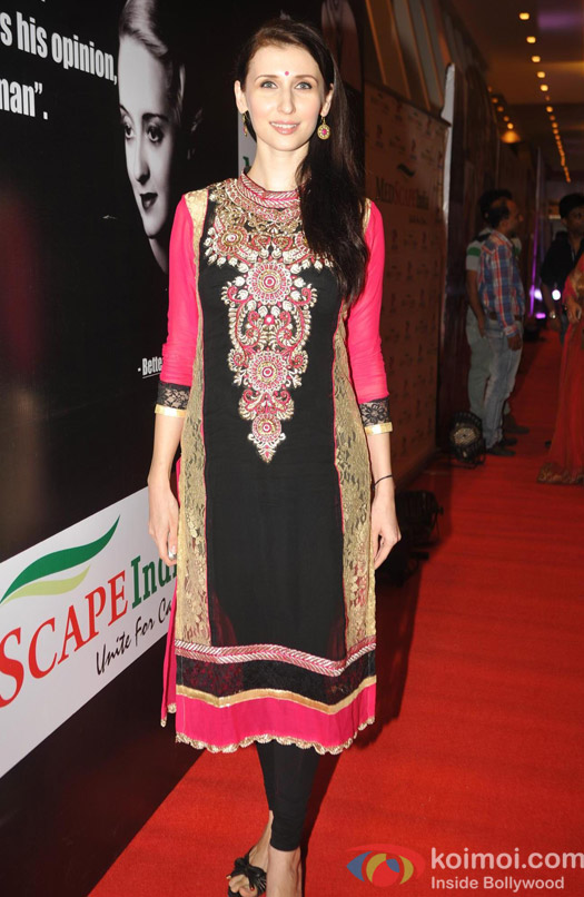 Claudia Ciesla during the Med Scape India Awards