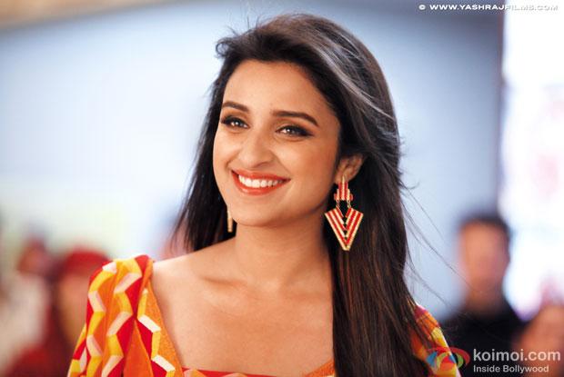 Parineeti Chopra in a still from movie 'Daawat-E-Ishq'