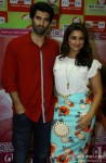 Aditya Roya Kapur and Parineeti Chopra during the promotion of movie 'Dawat-E-Ishq' at Big FM Studio Pic 1
