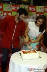 Aditya Roya Kapur and Parineeti Chopra during the promotion of movie 'Dawat-E-Ishq' at Big FM Studio Pic 2