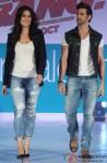 Katrina Kaif and Hrithik Roshan during the launch of Pantaloon's 'Bang Bang' Collections Pic 2