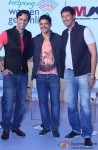 Salim Merchant, Farhan Akhtar and Sulaiman Merchant during the launch of MARD song Pic 1