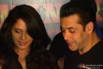 Richa Chadda and Salman Khan during the launch of movie Tamanchey's song 'In Da Club'