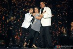 Vivaan Shah, Farah Khan and Boman Irani performed SLAM! The Tour at Sears Center Arena in Chicago