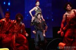 Deepika Padukone and Shah Rukh Khan performed SLAM! The Tour at Toyota Center in Houston
