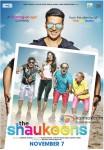 Akshay Kumar, Lisa Haydon, Anupam Kher, Annu Kapoor, Piyush Mishra and Rati Agnihotri starrer The Shaukeens Movie Poster 1
