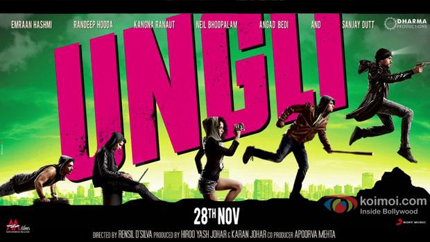 'Ungli' movie poster