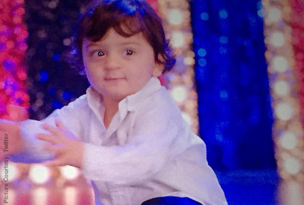 Abram Khan in a still from movie 'Happy New Year'